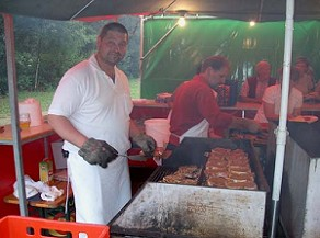 Catering mit Grillbuffet
